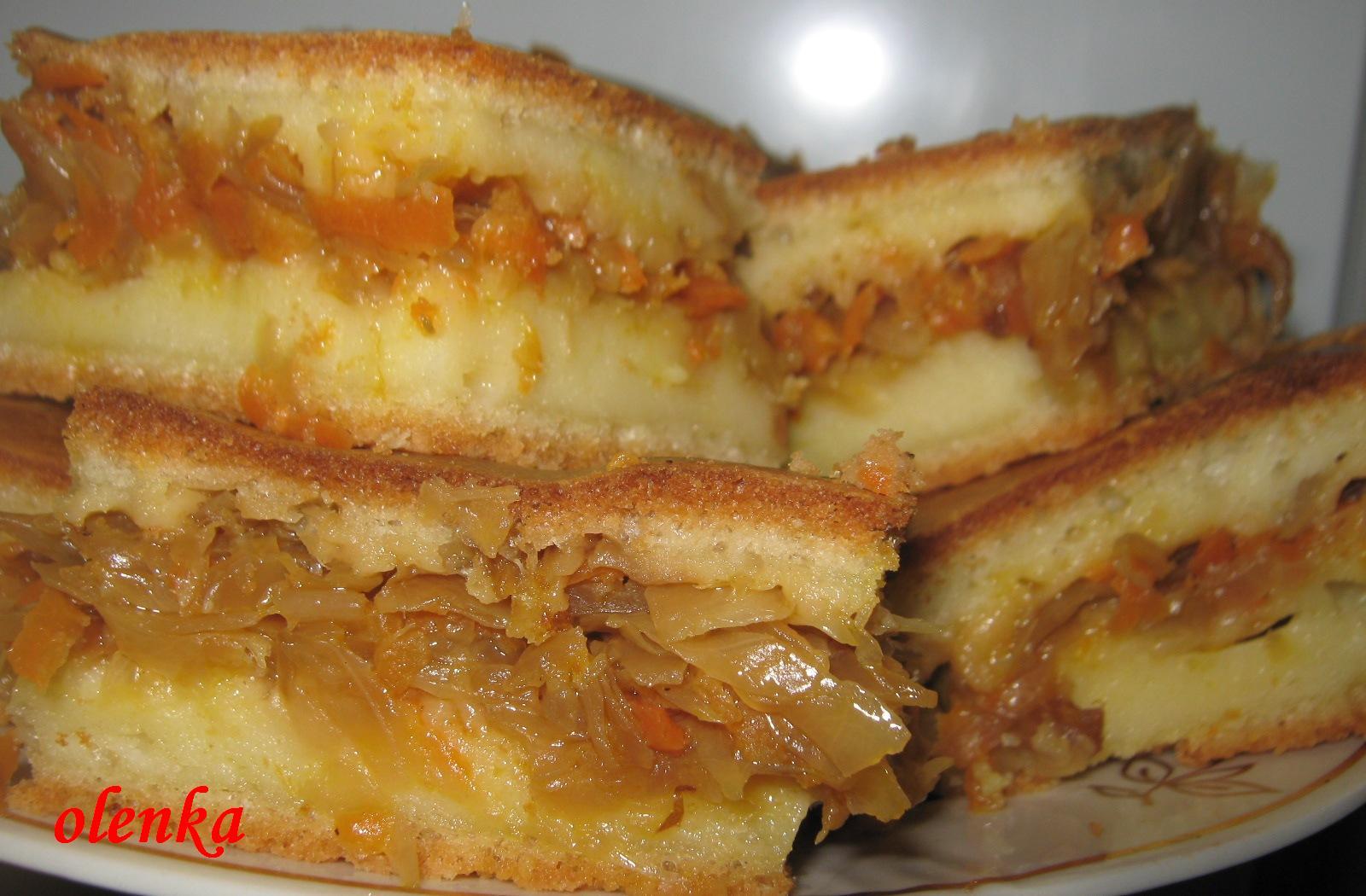 Пирог с капустой и сырым яйцом рецепт с пошагово в духовке