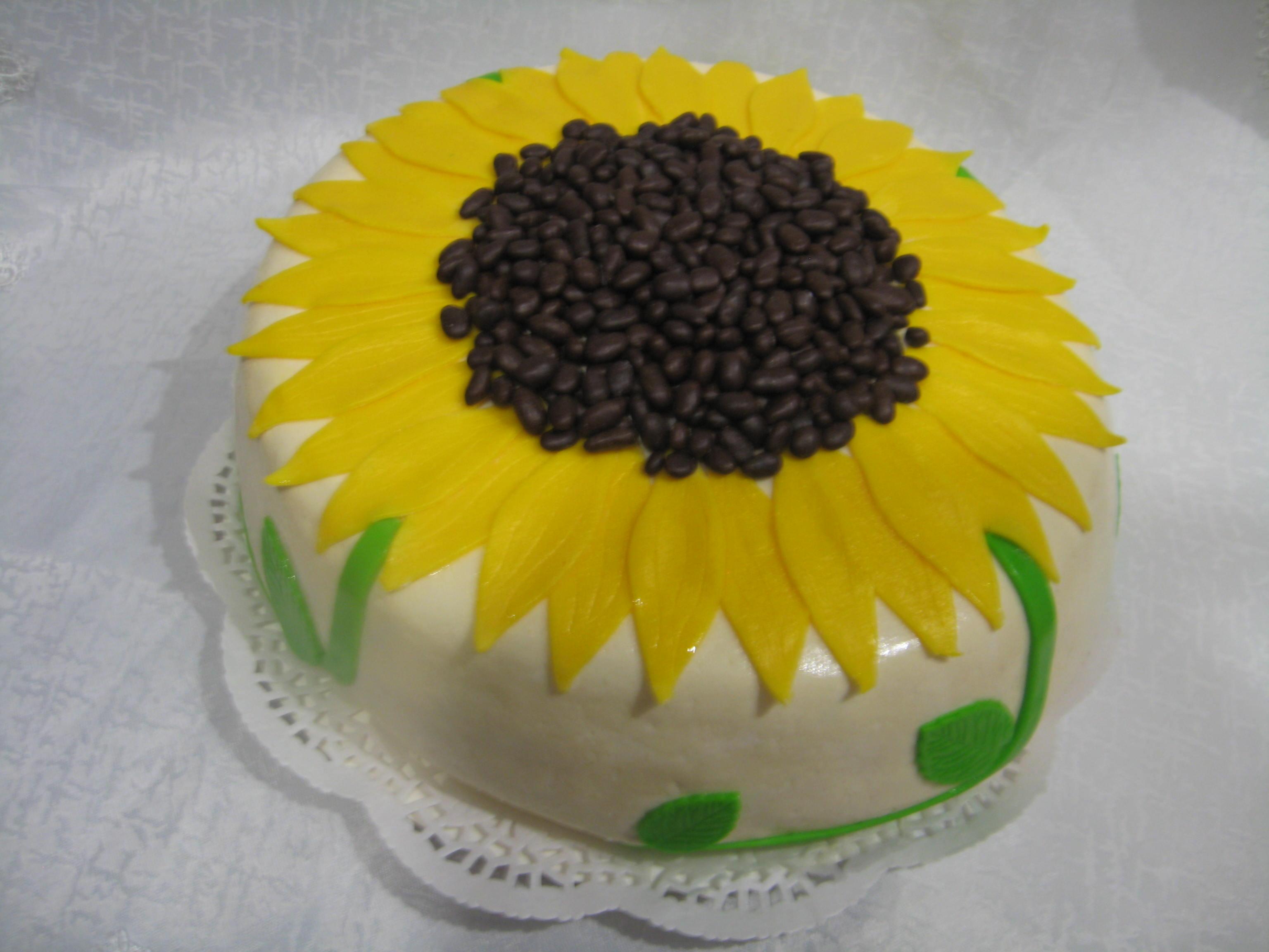 Торт подсолнух рецепт