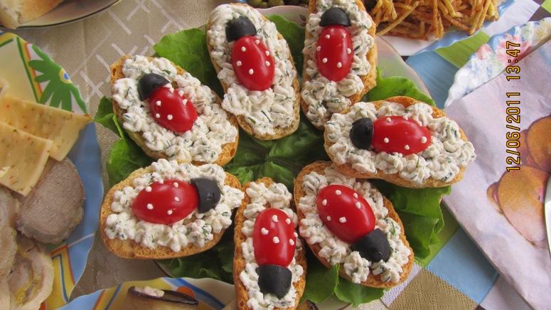 грінки на святковий стіл рецепти з фото
