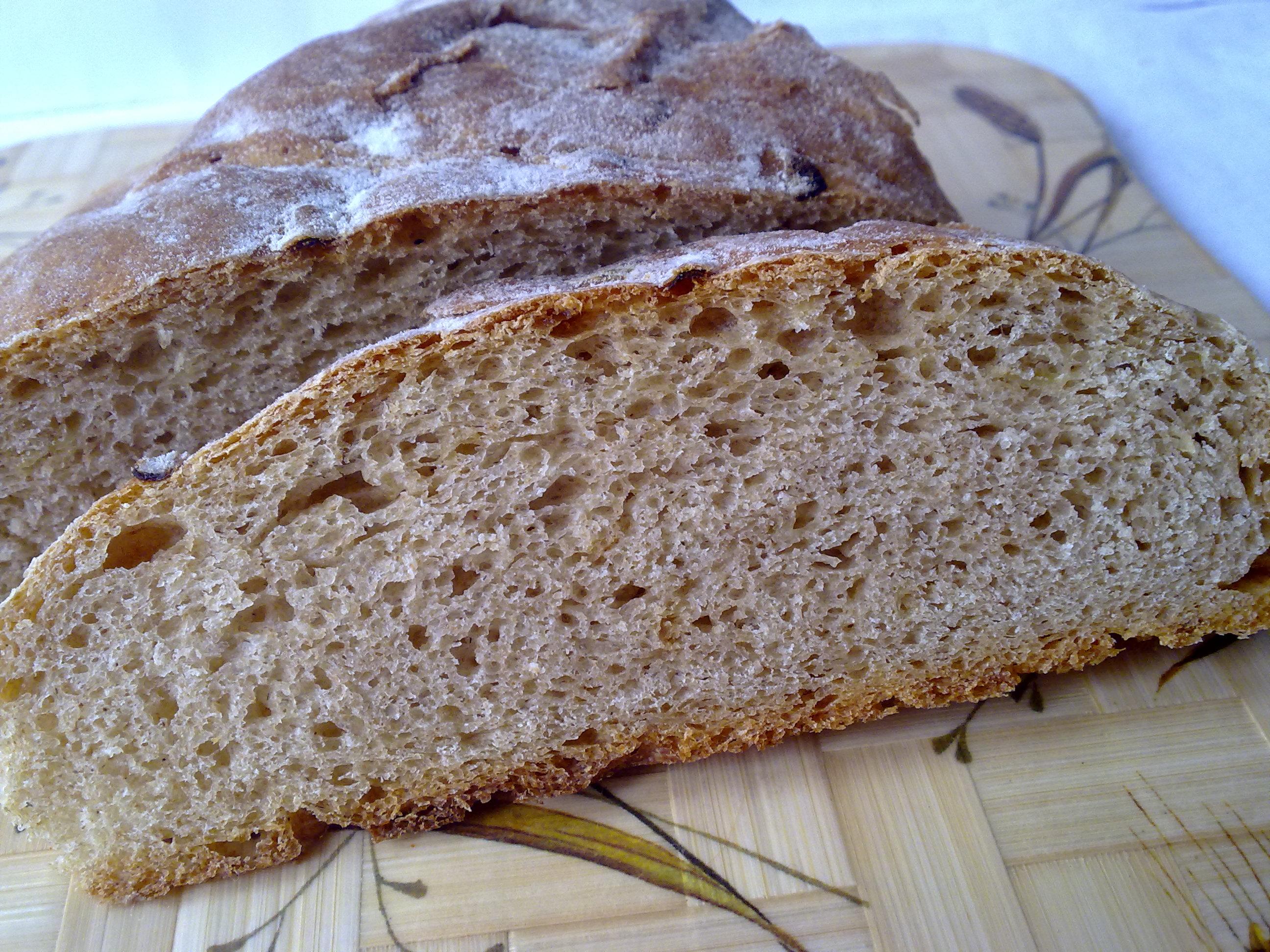 Ржаной хлеб на закваске в домашних условиях рецепт пошагово