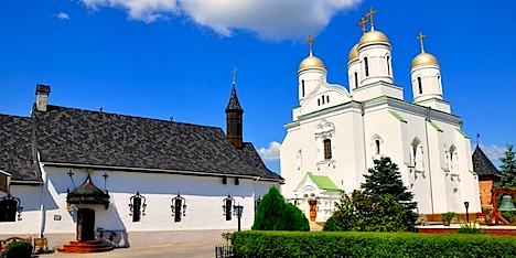 Заснував монастир київський князь володимир великий у 1001 р