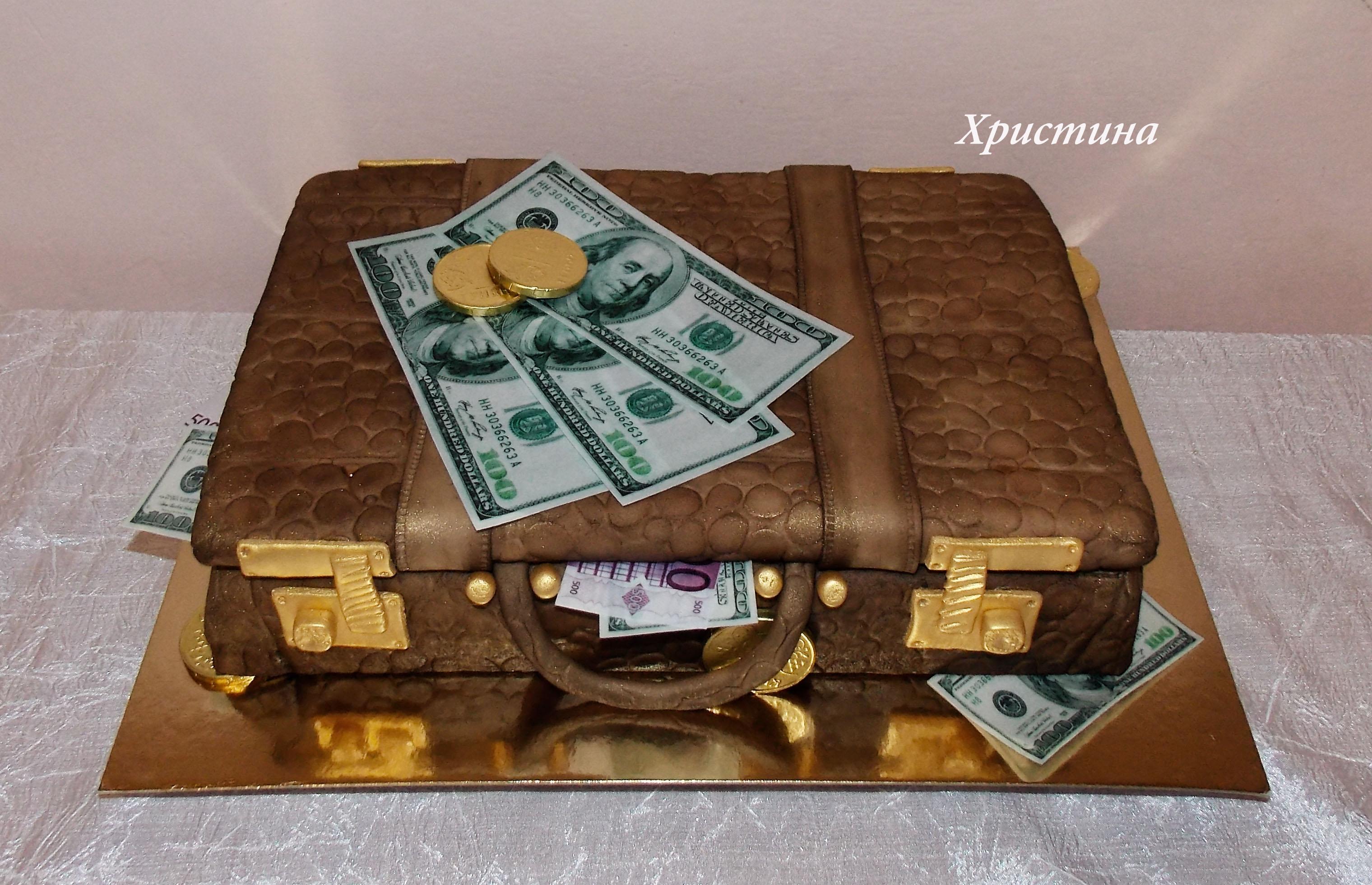 Чемодан с деньгами - подарок ВК - Смайлики ВК 85