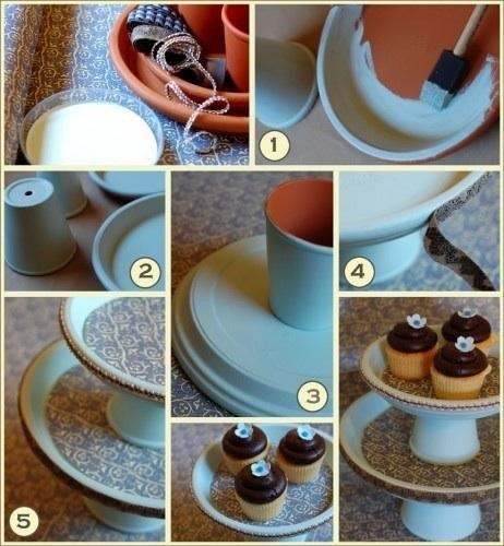 Как сделать подставку под торт своими руками из картона