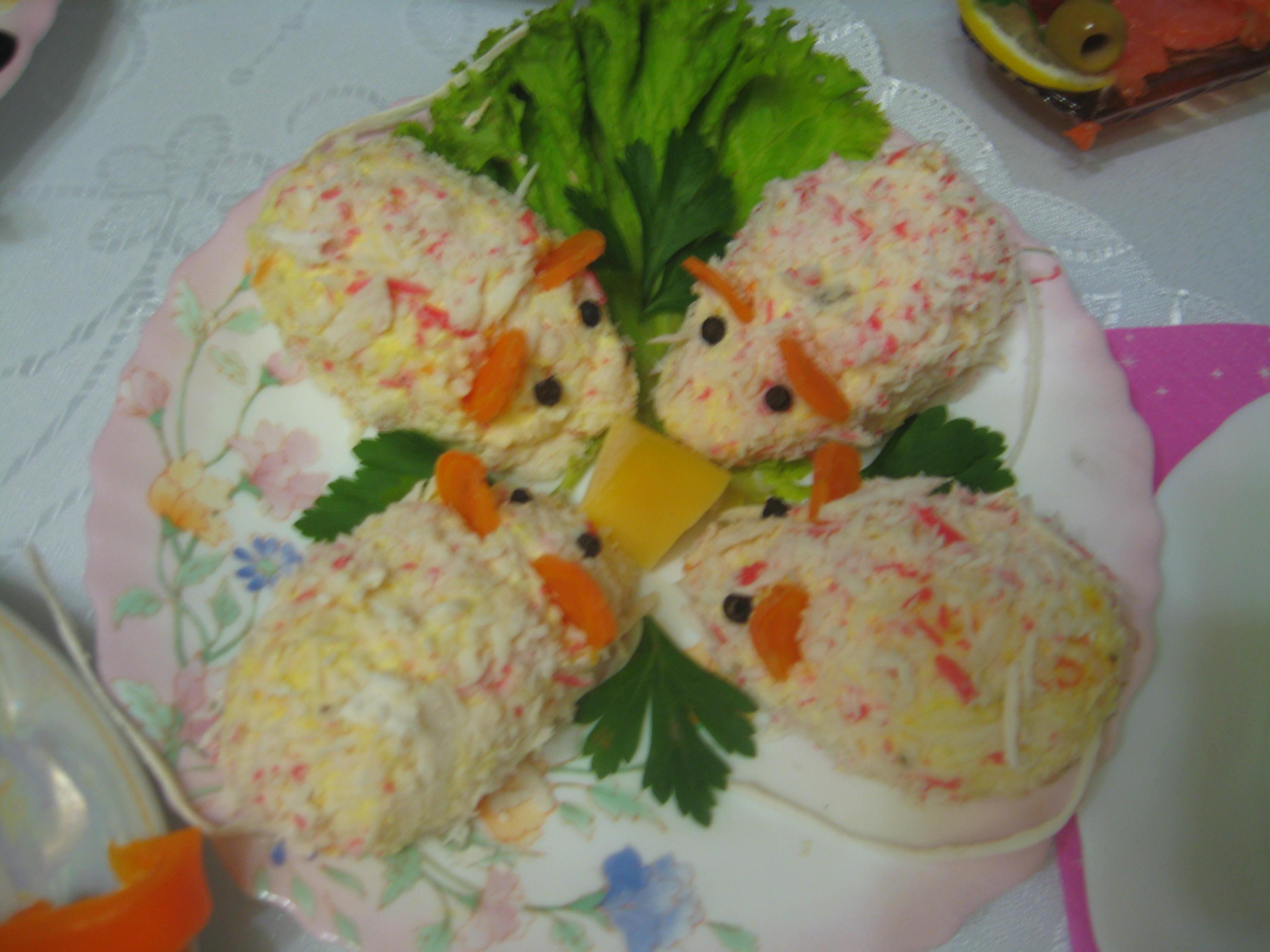 Салат приготовленный детьми фото