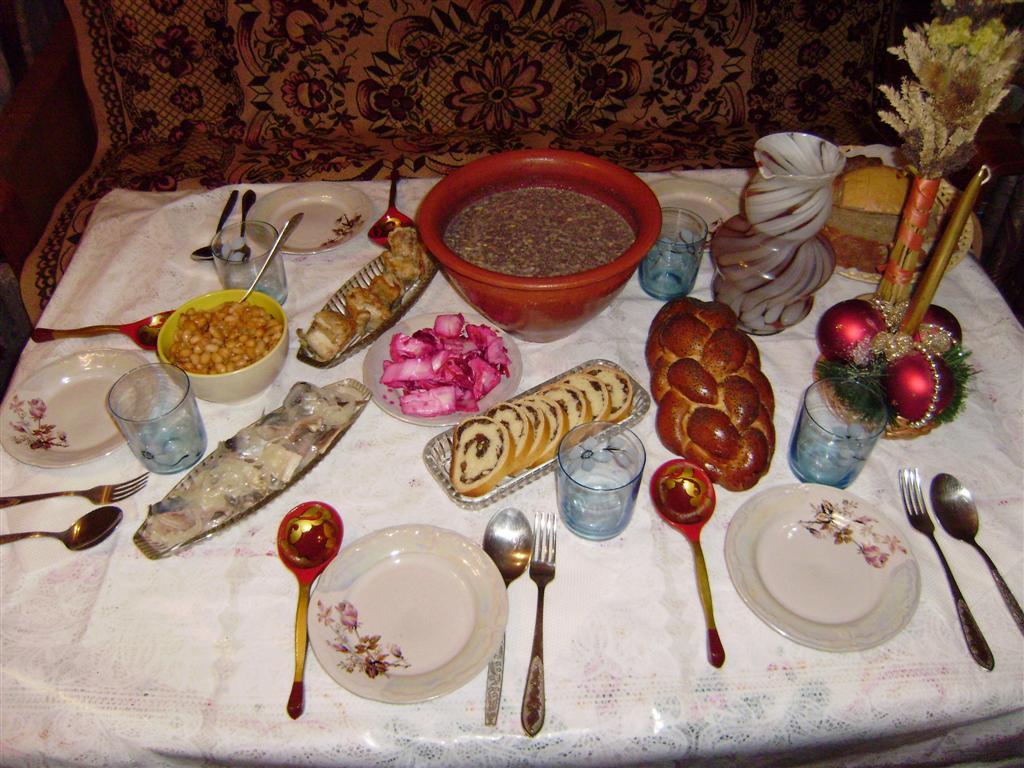 12 пісних страв дідух кутя у центрі