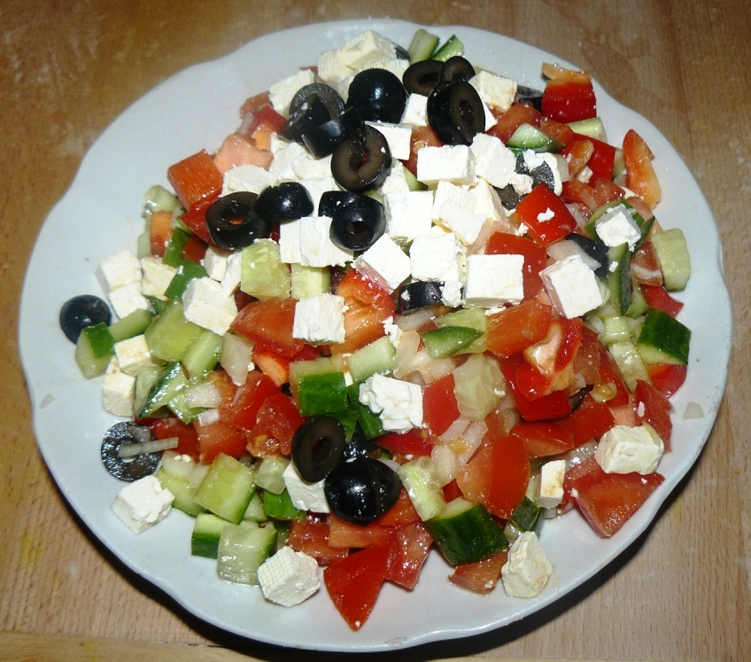 рецепты приготовления салатов из сыра фото пошаговое