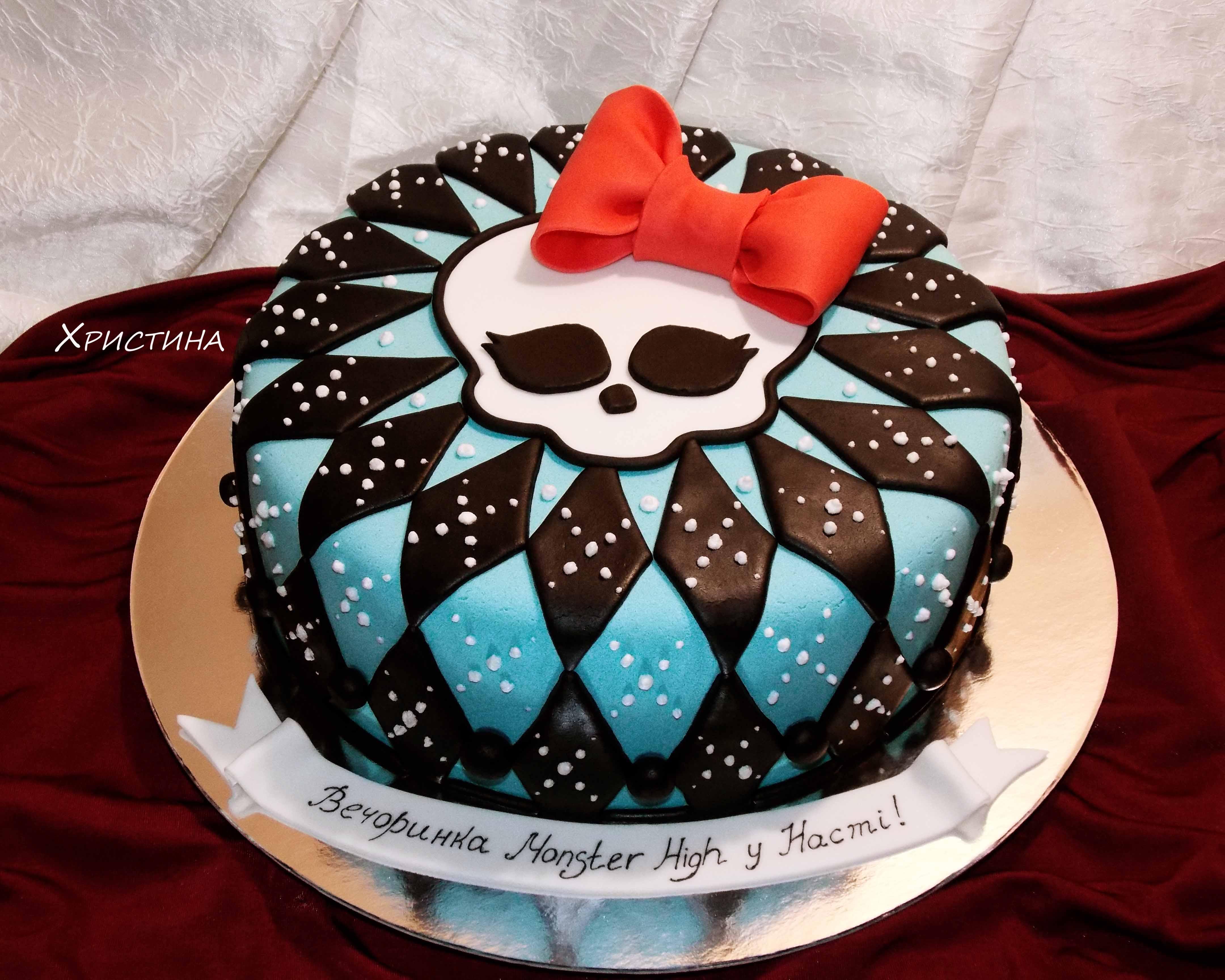 Монстры хай торт фото