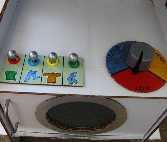 Стиральная машина детям своими руками 7