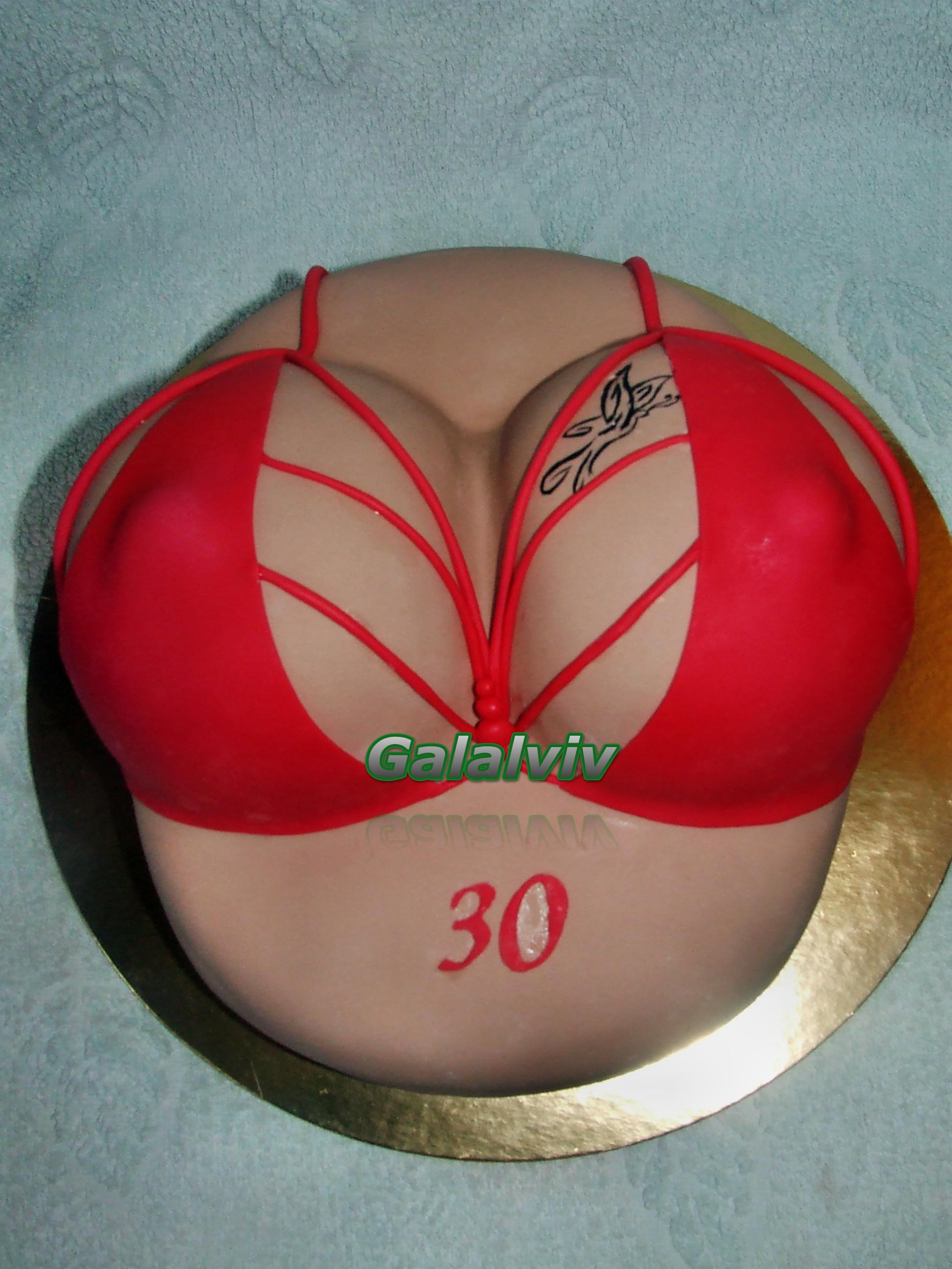 Как сделать торт бюст фото пошагово