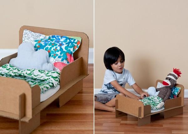 Как делать кроватки куклам