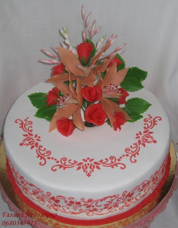 Блинный торт с шоколадом и сливками фото 5
