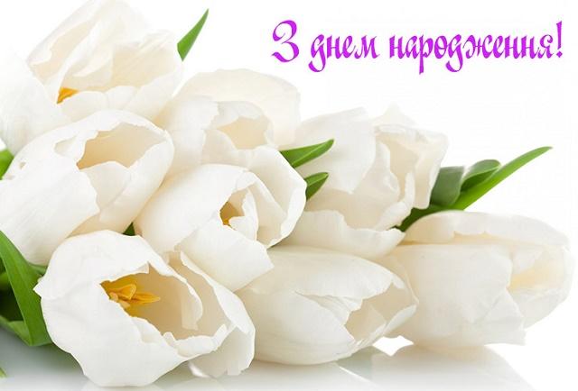 Картинки привітання з днем народженням по українські мові