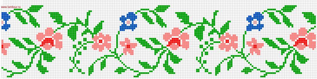 Украинская вышивка схемы для вышивки i