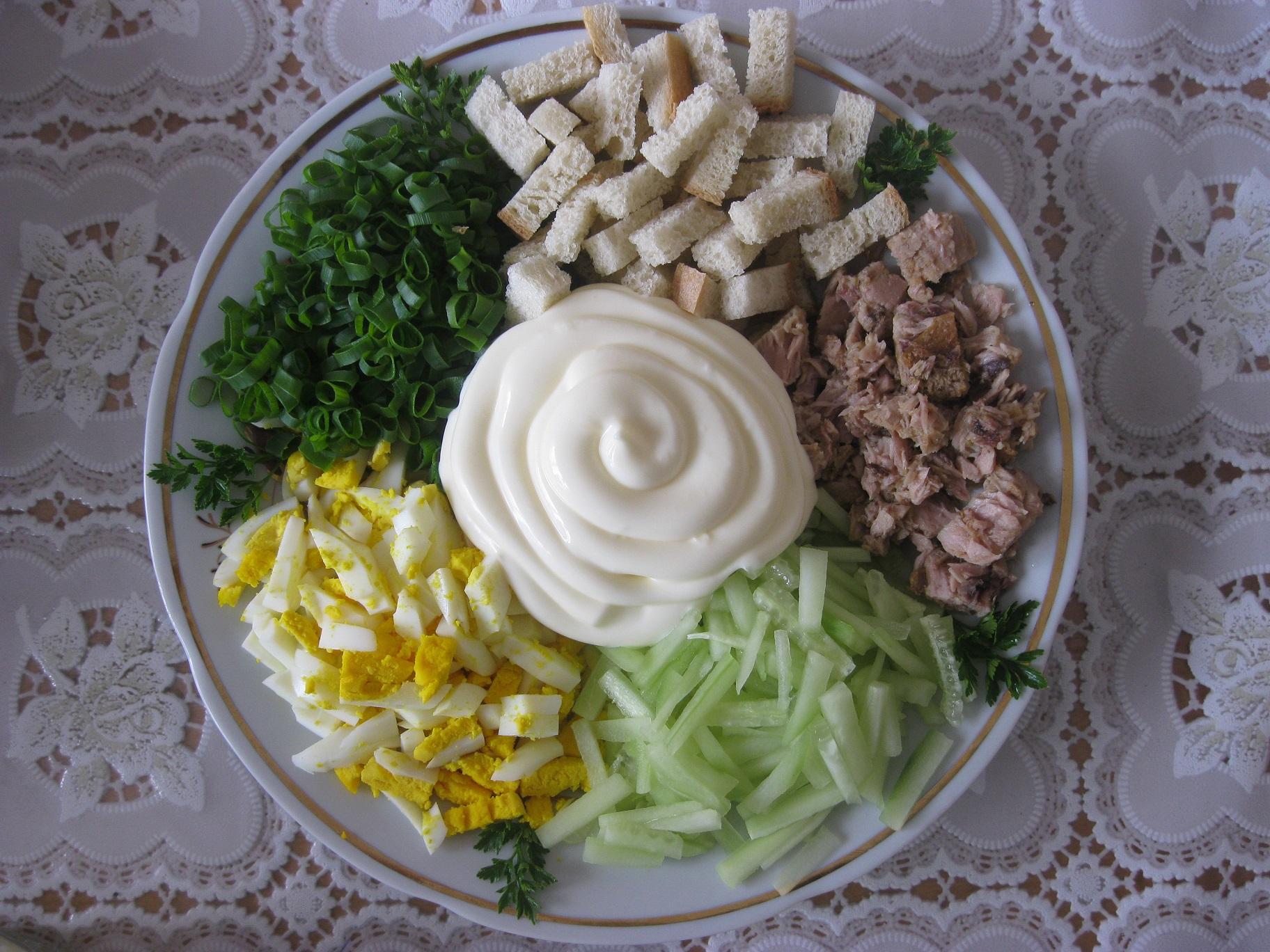Салати на день народження рецепт з фото