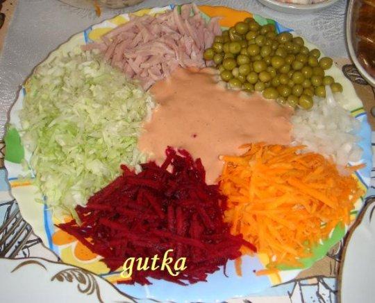 Салат с вареной свеклой рецепт с фото