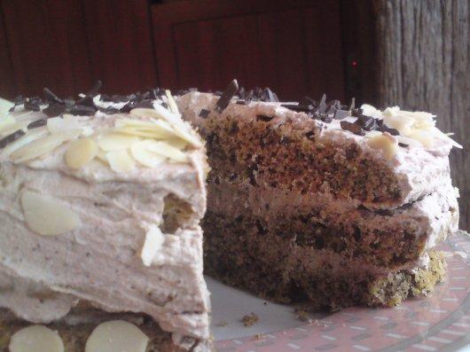 Ореховый торт - рецепт