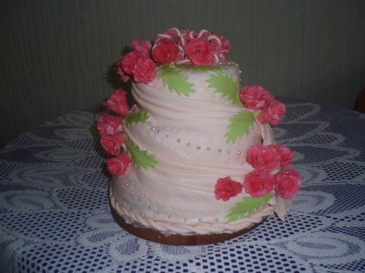 Торт з маршмеллоу фото