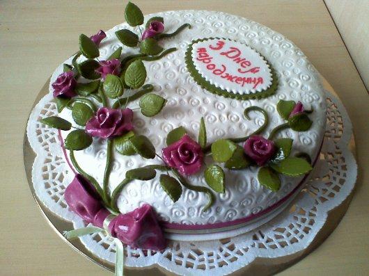 Клубничный торт 4 фото 2