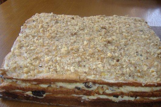 Торт з чорносливом рецепт з фото