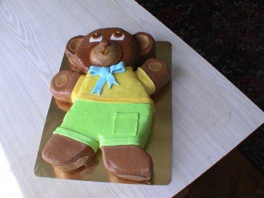 Торт ведмедик, фото