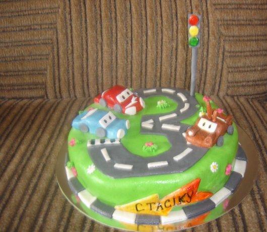 оформлення дитячого торту фото