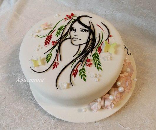 Торт для подруги с фото