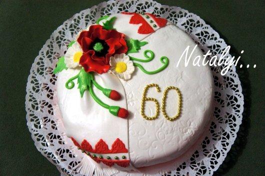 Торт с маком фото
