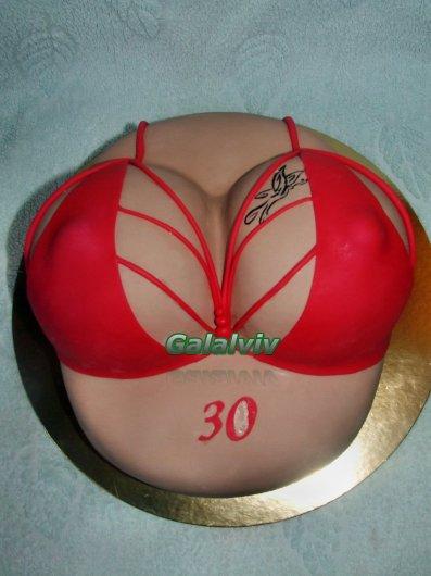 Фото торта в виде титек