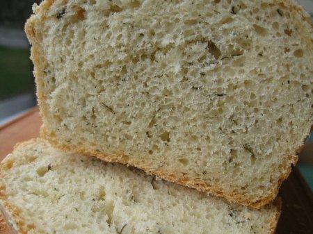 Хліб з кропом