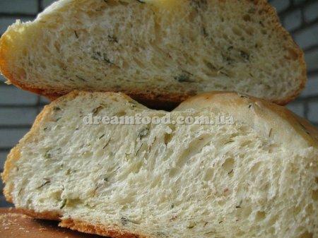 Хліб з зеленню