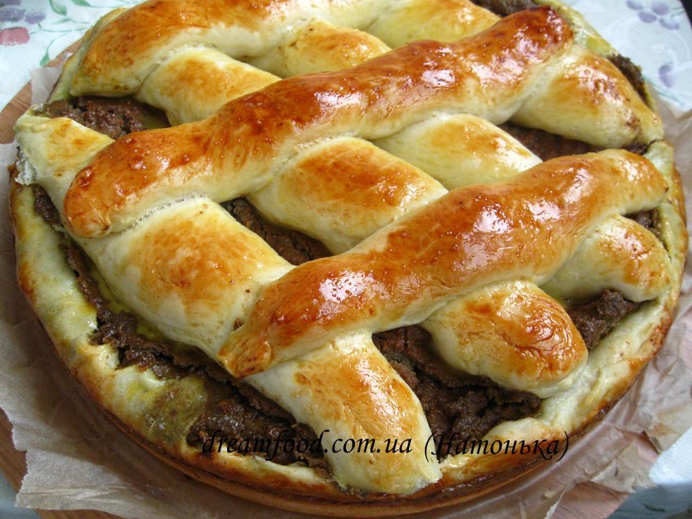 Пирог с печенью рецепт пошагово в духовке без дрожжей 111