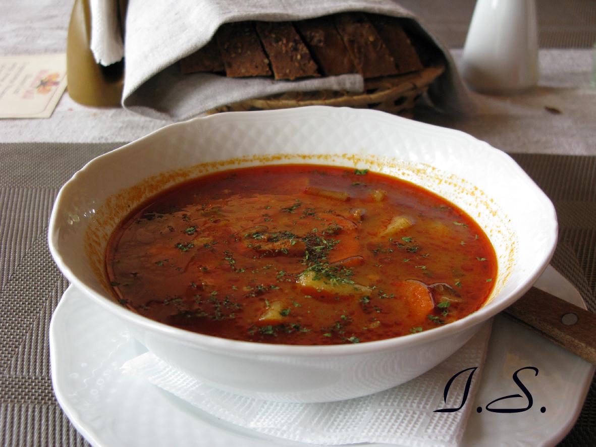 Венгерский бограч рецепт