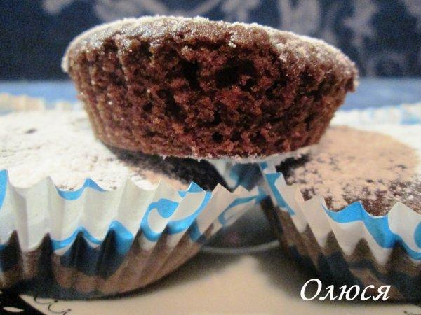 Шоколадні кекси рецепти з фото