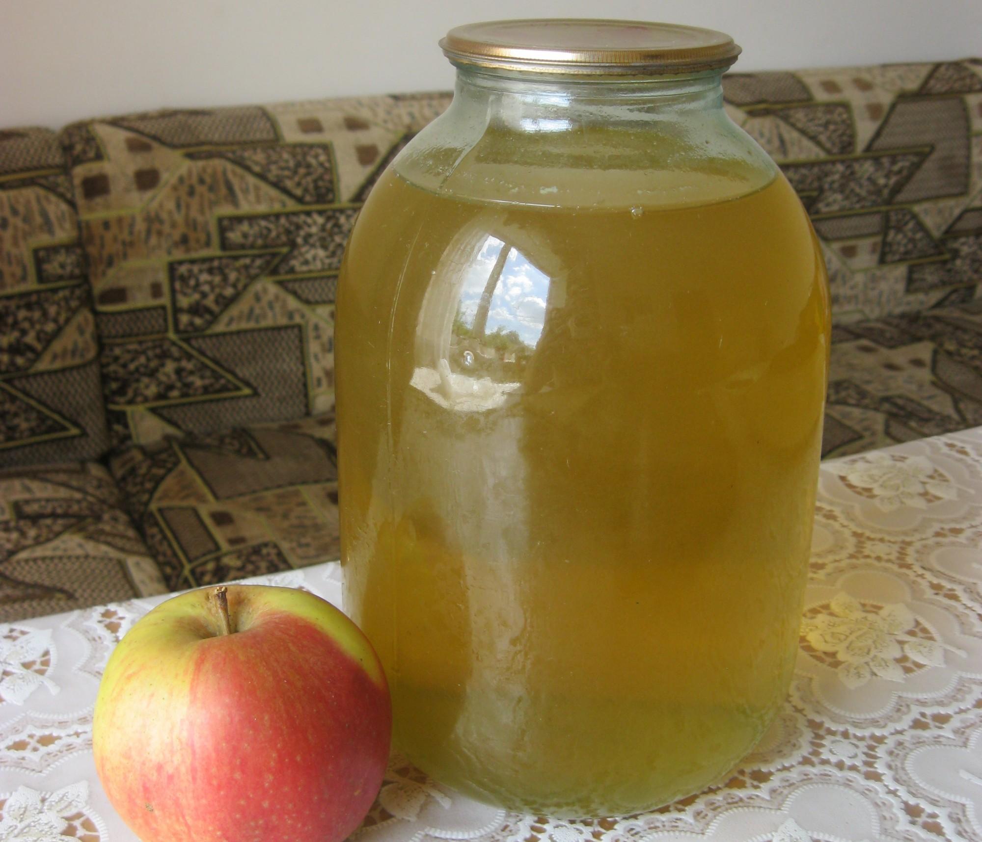 Яблочный сок своими руками быстро