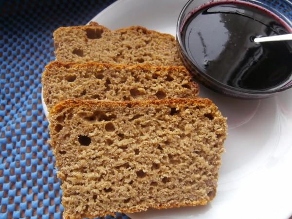 Швидкий житній хліб для лінивих