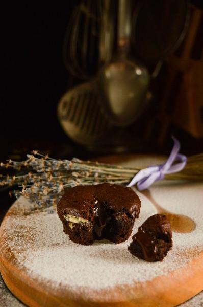 Шоколадні маффіни з маскарпоне